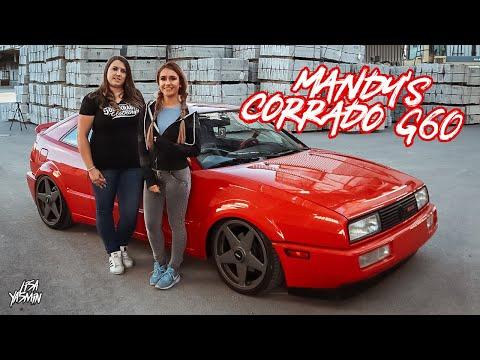 VW Corrado G60 | Mandy's Corrado | CarGirls | Lisa Yasmin
