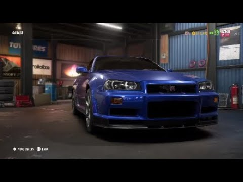 NEED FOR SPEED PAYBACK - How To Make Tyler's Nissan Skyline R34
