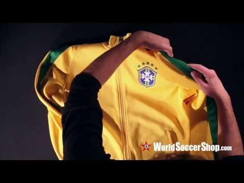Nike Brazil 2014 Track Jacket - Unboxing