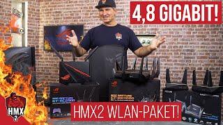 Das höllisch schnelle WLAN-Paket der HMX2 von ASUS mit RGB! #Höllenmaschine