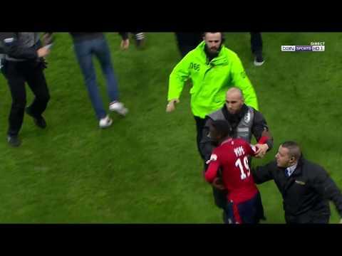 Lille vs Montpellier des supporters en colère !!