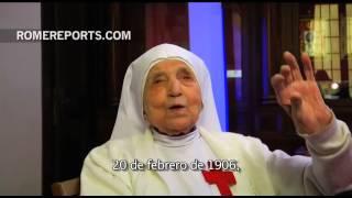 Sor Cándida, una de las monjas más ancianas del mundo