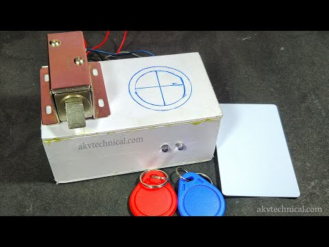 How to make RFID Lock || multi key access || FMRC522