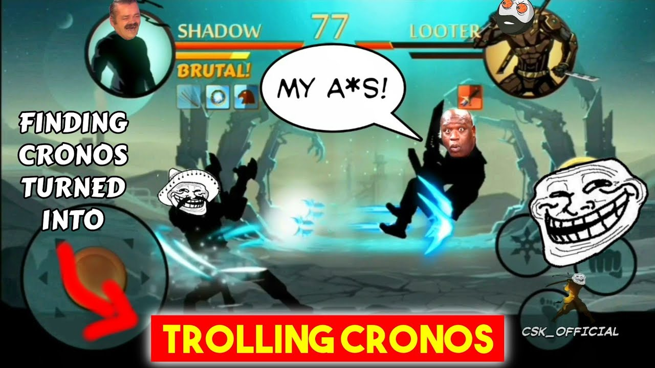 Finding & Trolling Cronos | Trolling Looters | CSK OFFICIAL