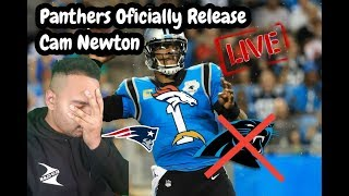 #Carolinapanthers  Carolina Panthers Release Cam Newton Fan Reaction/NFL Free Agency Landing Spots