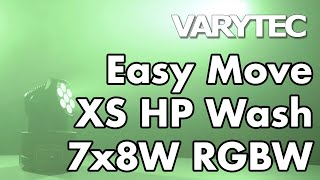 Varytec Easy Move XS HP Wash 7x8W RGBW: small but powerful