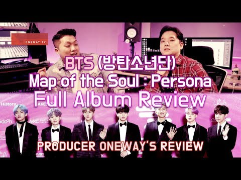 [ENG SUB] Producer Review BTS Map of the soul Persona full album review / 프로듀서의 전체 앨범 리뷰