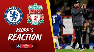 Watch as jürgen klopp speaks to the media following liverpool's emirates fa cup exit at hands of chelsea.enjoy more content and get exclusive perks in ou...