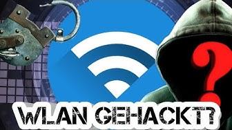 Wlan GEHACKT: Was tun!😀✔ So stoppst⛔ du jeden Hacker!😀 | Wlan schützen!✔Wer benutzt mein Wlan?