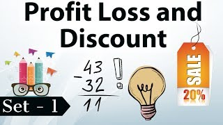 Profit and Loss concepts tricks & shortcuts SET 1 - CSAT/IBPS/SBI/SSC CGL/LDC/MTS/CLERK/POLICE