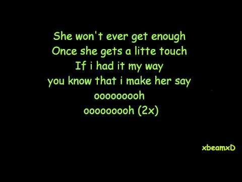 3oh!3-My first kiss Lyrics
