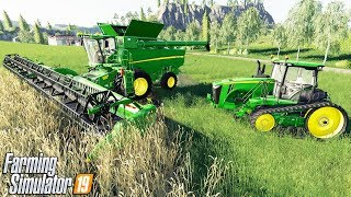 THE $2,500,000 JOHN DEERE FARM CONTRACT | Farming Simulator 19 Gameplay Multiplayer