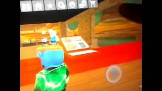 Playing roblox work at a pizza place EP 1