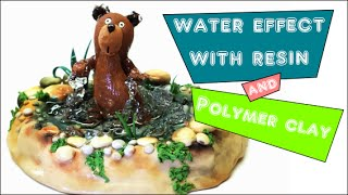 Resin water effect and polymer clay- Tutorial