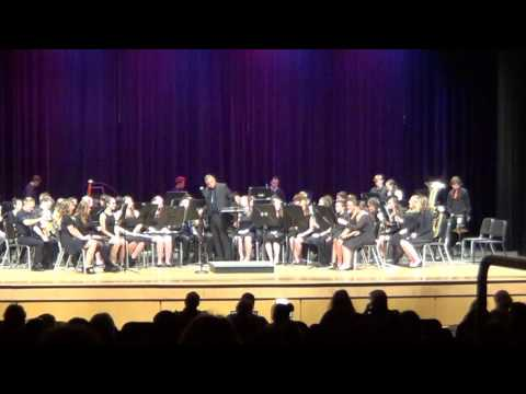 Powhatan High School Wind Ensemble - 2/22/17 Concert