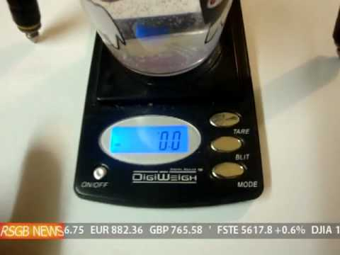 Howto Test Fake Gold and silver Specific Gravity