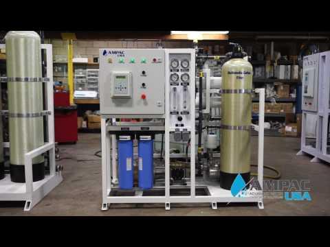 Ampac USA Seawater Desalination SW3000-LX