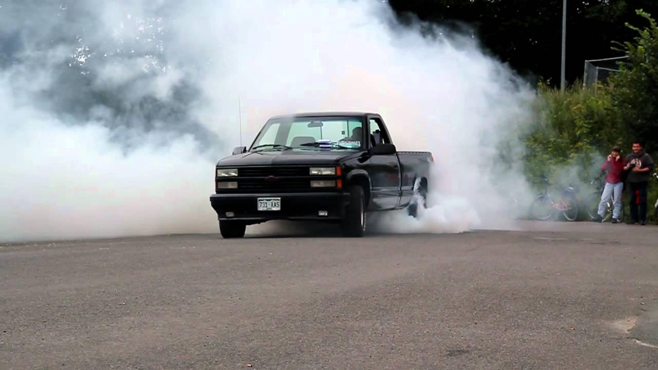 Burnout / Chevy 454 SS / Big Bumper Meet / Oldenburg 30.07 ...