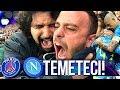 TEMETECI!!! PSG 2-2 NAPOLI | LIVE REACTION TIFOSI NAPOLETANI PARCO DEI PRINCIPI HD MP3