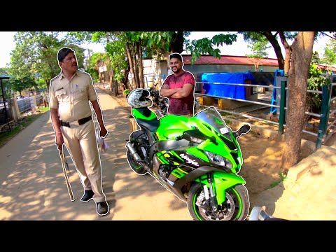 CAUGHT BY BANGALORE POLICE FOR LOUD EXHAUST ?