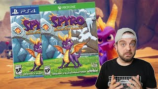 Spyro Reignited Trilogy - Worth Visiting This PS1 Classic? | RGT 85