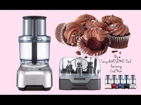 breville bfp800 kitchen wizz pro how to make simple easy fool proof cupcakes in food processor youtube - Breville Food Processor