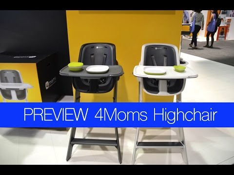 Preview! 4moms Highchair ~ ABC KIDS EXPO 2015