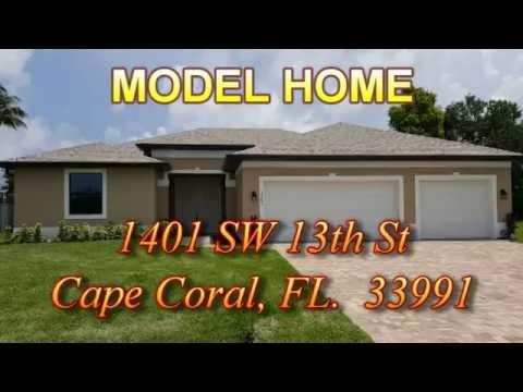 MODEL HOME - 1401 SW 13th St , Cape Coral, FL  33991