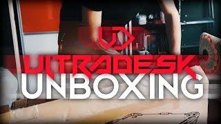 | ULTRADESK | BIURKO GAMINGOWE LED | UNBOXING