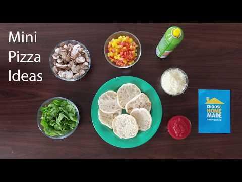 Mini Pizza Ideas