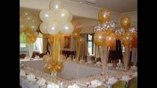 Свадьба украшение зала своими руками