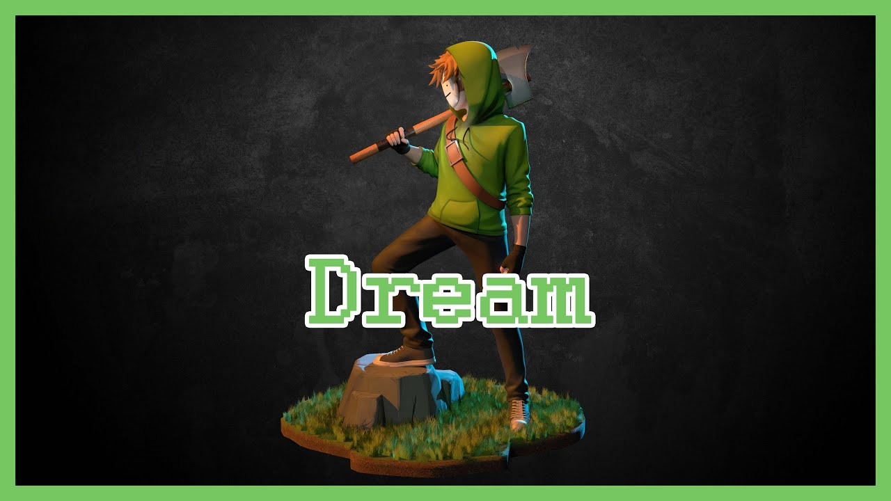 Dream 3D model CG ver.