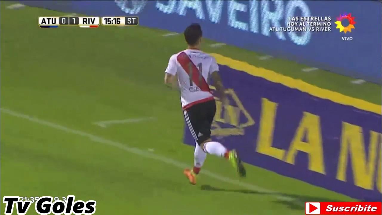 Atletico Tucuman 0 River Plate 3 Primera Division 2016