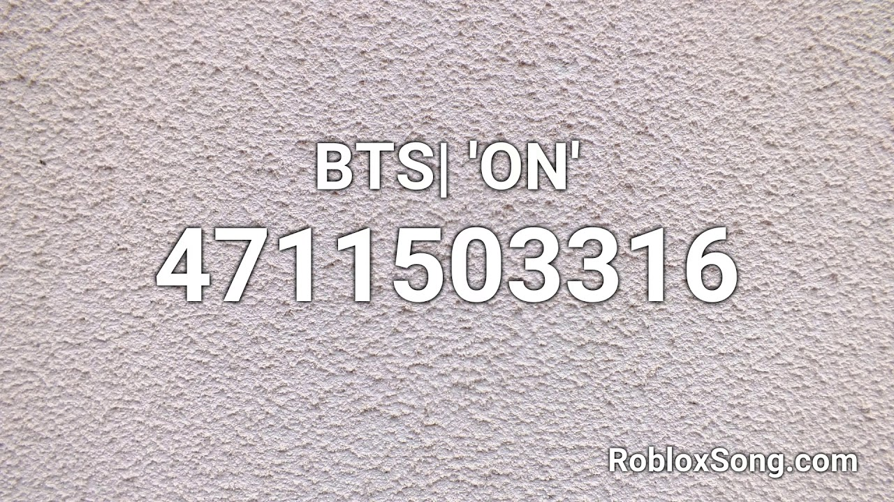 Bts On Roblox Id Roblox Music Code Youtube
