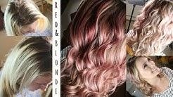Red & Blonde Foils | Hair Color Tutorial