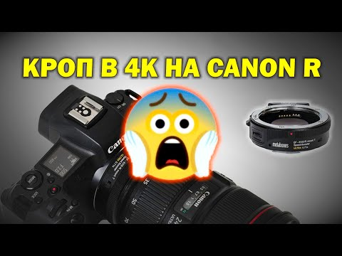 Кроп в 4К на Canon R...нужен ли спидбустер Metabones RF-EF?