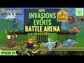 Terraria 1.3.5 LET'S BUILD | AFK ALL EXPERT Invasions & Moon Events BATTLE ARENA | Episode 24