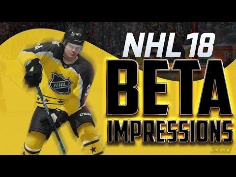 NHL 18 Gameplay Impressions
