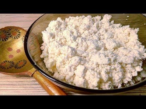 Как сделать творог в домашних условиях из прокисшего молока