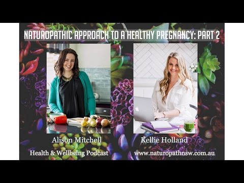 Naturopathic approach to a Healthy Pregnancy: Part 2.  Health & Wellbeing Podcast episode #13