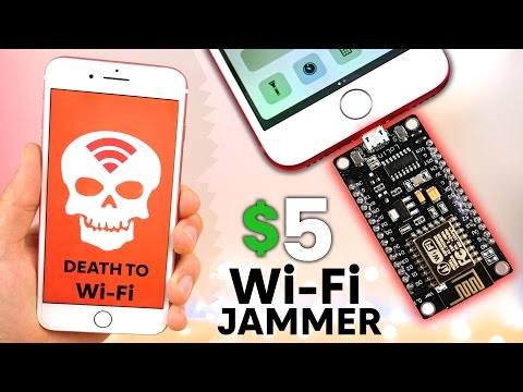 Thumbnail: The Illegal $5 WiFi Jammer for iPhone & Android