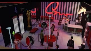 Sims 4/ Симс 4. Стриптиз-клуб в постапокалиптичном городе