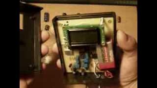 Измеритель емкости и ЭПС конденсаторов. ESR meter.(Демонстрация работы прибора для измерения емкости и ЭПС (эквивалентного последовательного сопротивления),..., 2013-05-21T16:54:07.000Z)