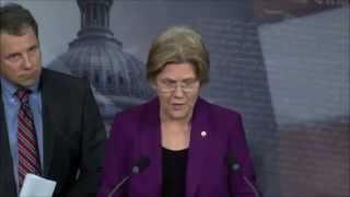 Senator Elizabeth Warren (D-MA) Speaks on Consumer Financial Protection Bureau and Richard Cordray