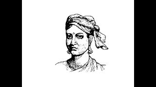 How to draw Rani Lakshmibai face pencil drawing step by step