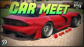 Any Car Meet Gta 5 Online LIVE - [Road to 2.8K Subs]- Check The Description For Join