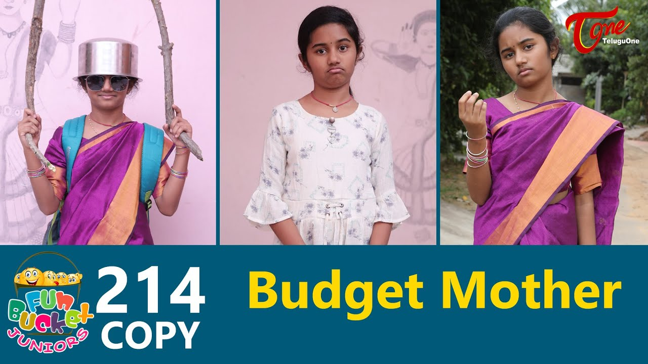 Download Fun Bucket JUNIORS | Epi 214 | Budget Mother | Telugu Comedy Web Series | TeluguOne