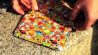Как клеить виниловую наклейку Qsticker на iPad