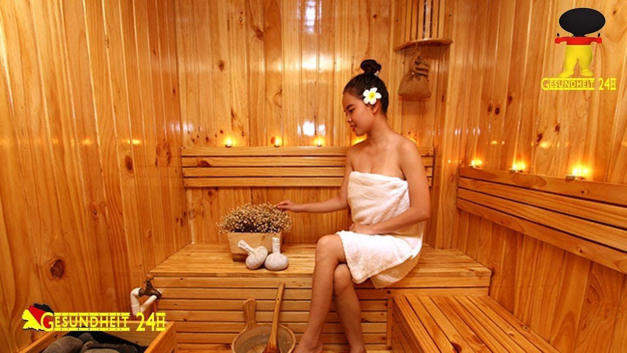 sauna schwitzen sie sich gesund youtube. Black Bedroom Furniture Sets. Home Design Ideas