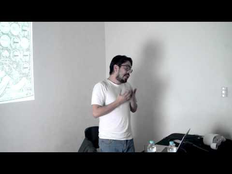 Conferencia de Erick Beltrán en Centro ADM